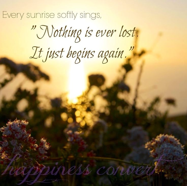 sunrise pictures with quotes - 736×603